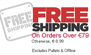 Free Shipping - Over Euro79