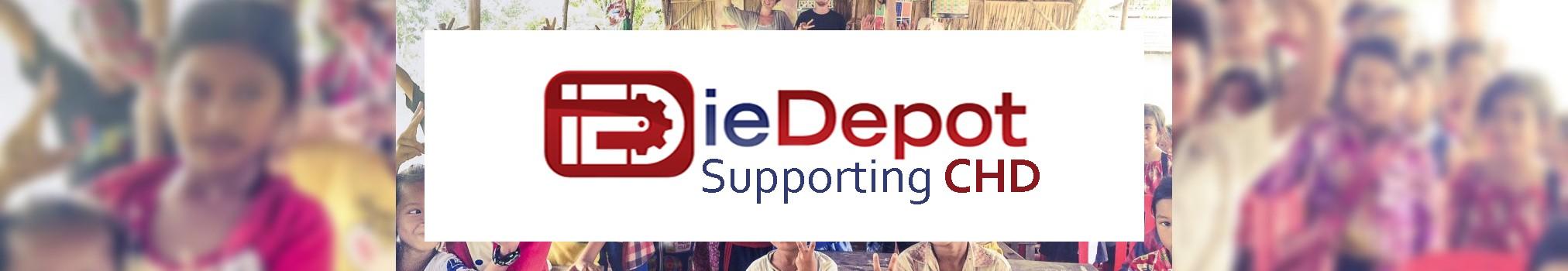 ieDepot Support CHD Banner