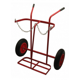 Portable Welding Gas Trolley with Pneumatic Tyres