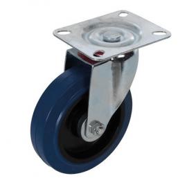 100mm Rubber Castor Wheels