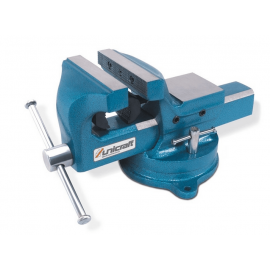 Unicraft 100mm Steel Bench Vice