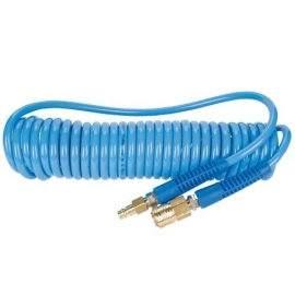 Pro Coiled Air Hose - 5mm x 6m