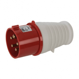 400 Volt 32 Amp Plug (Red)