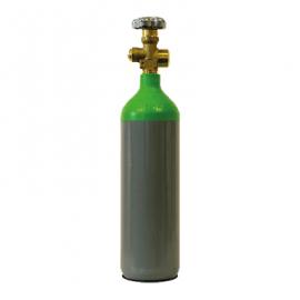 2 Litre Argon Gas Bottle Size A
