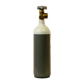 2 Litre Oxygen Gas Bottle