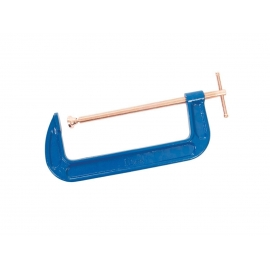 G Clamp with Copper Threads - 250mm (10 inch)