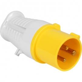110 Volt 16 Amp Plug (Yellow)