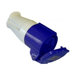 230 Volt 16 Amp Socket (Blue)
