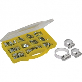 Hose Clips Section Pack - 60 Pieces