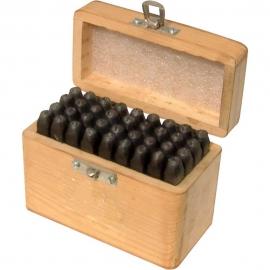 Boxed Letter & Number Punch Set 5mm
