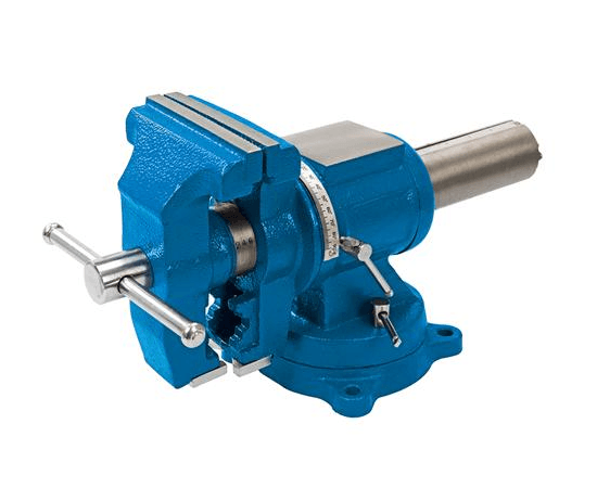 Multipurpose Bench Vice 125 mm - Rotating Head & Swivel Base