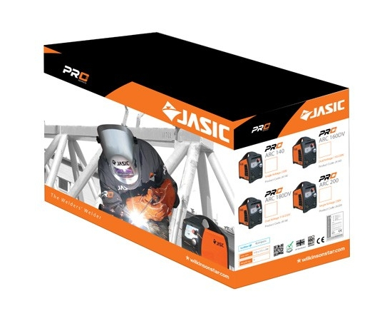 JASIC Arc 200 Packaging