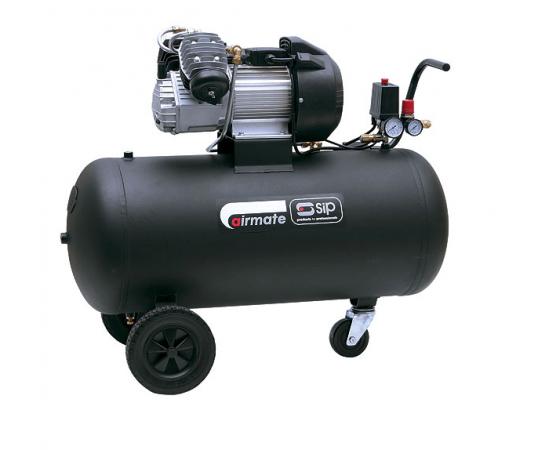 SIP 100 L TN3/100-D Portable Air Compressor