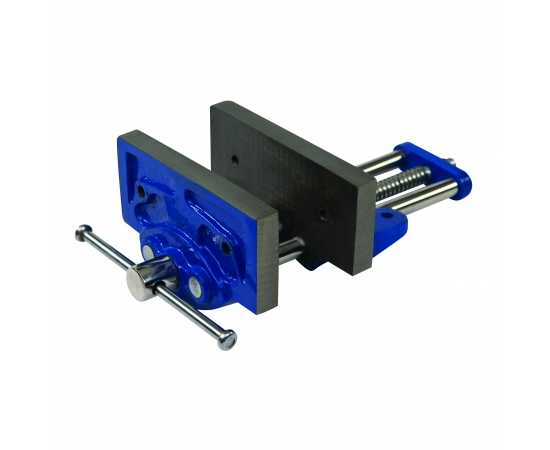 Silverline Woodworkers Cast Iron Woodworking Vice - 180mm